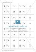 Das kleine Einmaleins - Memory zur Übung der verschiedenen Einmaleins-Reihen Preview 4
