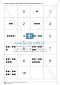 Zahlen bis 10 - Memory: Mengen und Zahlen zuordnen,  Addition und Subtraktion, ergänzen auf 10 Preview 2