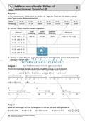 Addition von rationalen Zahlen mit gleichen und verschiedenen Vorzeichen Preview 3
