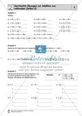Addition von rationalen Zahlen mit gleichen und verschiedenen Vorzeichen Preview 5