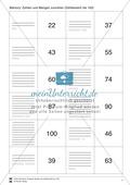 Mathematik, Zahlen & Operationen, Mengen, Arithmetik, zählen, zahlenraum bis 100
