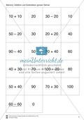 Mathematik, Zahlen & Operationen, Grundrechenarten, Spiel, Arithmetik, Subtraktion, addition, zahlenraum bis 100