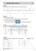 Rationale Zahlen der Größe nach ordnen und Vorgänger + Nachfolger bestimmen Preview 1
