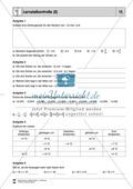 Lernzielkontrolle zu rationalen Zahlen - Zahlengerade, Zahlen ordnen, Differenzen Preview 2
