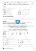 Potenzgesetz für die Multiplikation von Potenzen mit gleicher Basis und natürlichen Exponenten Preview 3