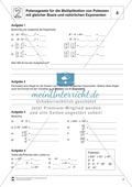 Potenzgesetz für die Multiplikation von Potenzen mit gleicher Basis und natürlichen Exponenten Preview 4