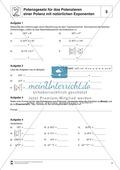 Potenzgesetz für das Potenzieren einer Potenz mit natürlichen Exponenten Preview 1