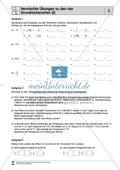 Vermischte Übungen mit rationalen Zahlen zu den vier Grundrechenarten Preview 2