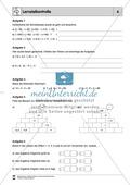Mathematik, Zahlen & Operationen, Grundrechenarten, rationale Zahlen