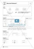 Mathematik, Zahlen & Operationen, Potenzen, Rechengesetze, rechenregeln