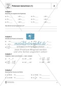 Mathematik, Zahlen & Operationen, Potenzen, Kopfrechnen, Potenzgesetze