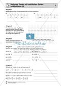 Rationale Zahlen multiplizieren - von der Multiplikation mit natürlichen Zahlen zur Multiplikation mit rationalen Zahlen Preview 2