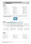 Rationale Zahlen multiplizieren - von der Multiplikation mit natürlichen Zahlen zur Multiplikation mit rationalen Zahlen Preview 5