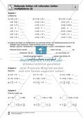 Rationale Zahlen multiplizieren - von der Multiplikation mit natürlichen Zahlen zur Multiplikation mit rationalen Zahlen Preview 7