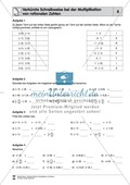 Rationale Zahlen multiplizieren - von der Multiplikation mit natürlichen Zahlen zur Multiplikation mit rationalen Zahlen Preview 8