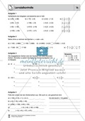 Mathematik, Zahlen & Operationen, Grundrechenarten, Arithmetik, Division, Multiplikation, rationale Zahlen
