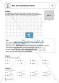Quadratwurzelberechnung - Erläuterung und Übungen Preview 1