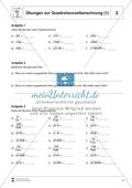 Quadratwurzelberechnung - Erläuterung und Übungen Preview 2
