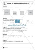 Quadratwurzelberechnung - Erläuterung und Übungen Preview 3