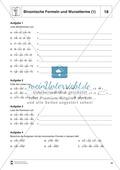 Distributivgesetz und Wurzelterme + Binomische Formeln und Wurzelterme Preview 3