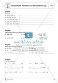 Distributivgesetz und Wurzelterme + Binomische Formeln und Wurzelterme Preview 4