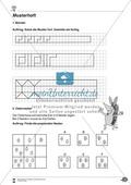 Formen und Muster - Figuren nachzeichnen und vervollständigen Preview 3