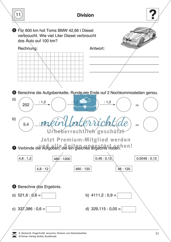 Berühmt Mathe Arbeitsblatt Prozentanteil Und Dezimalzahlen Fotos ...