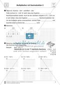 Aufgaben zur Multiplikation von Dezimalzahlen untereinander Preview 2