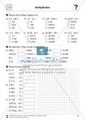 Vermischte Aufgaben zur Multiplikation von Dezimalzahlen Preview 1