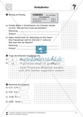 Vermischte Aufgaben zur Multiplikation von Dezimalzahlen Preview 2