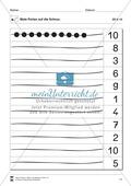 Ziffern und Mengen im Zahlenraum bis Zehn: Mengenbilder - Punkte Preview 10