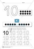 Zahlenraum bis Zehn: Mengenbilder Preview 1