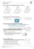 Körperberechnungen: Volumen der Pyramide Preview 2