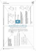 Körperberechnungen: Oberfläche der Pyramide Preview 3
