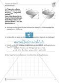 Mathematik, Raum & Form, Körperberechnung, Kugel, Volumen bestimmen, Volumen