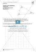 Trigonometrie: Sinussatz an beliebigen Dreiecken Preview 1
