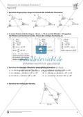 Trigonometrie: Sinussatz an beliebigen Dreiecken Preview 2