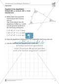 Trigonometrie: Kosinussatz an beliebigen Dreiecken Preview 1