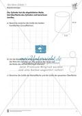 Geometrische Körper: Die Oberfläche des Zylinders berechnen Preview 1