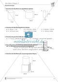 Geometrische Körper: Die Oberfläche des Zylinders berechnen Preview 2