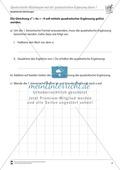 Quadratische Gleichungen mit Hilfe der quadratischen Ergänzung lösen Preview 1