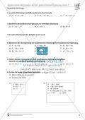 Quadratische Gleichungen mit Hilfe der quadratischen Ergänzung lösen Preview 2