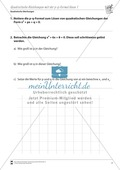 Quadratische Gleichungen mit Hilfe der p-q Formel lösen Preview 1