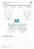 Quadratische Funktionen: Parabeln entlang der y-Achse verschieben Preview 1