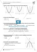 Quadratische Funktionen: Parabeln entlang der y-Achse verschieben Preview 2