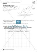 Strahlensätze: Längen mit dem ersten Strahlensatz berechnen Preview 1