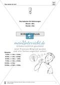 Größeneinheiten: Merkhilfe und Umrechnungstabelle zum Rechnen mit den Zeiteinheiten Minute und Stunde Preview 1