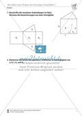 Oberfläche eines Prismas mit dreieckiger Grundfläche beschriften und bestimmen Preview 1
