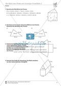 Oberfläche eines Prismas mit dreieckiger Grundfläche beschriften und bestimmen Preview 2