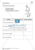 Größeneinheiten: Aufgaben zum Vergleichen verschiedener Zeitabstände Preview 2